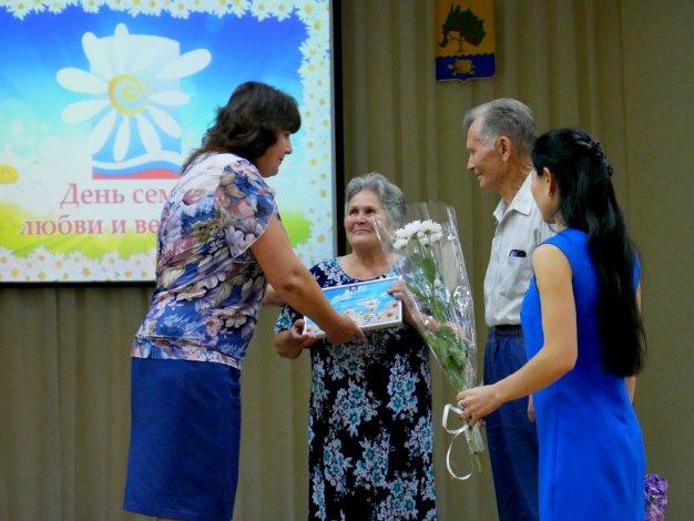 В Приволжском районе отметили День семьи, любви и верности