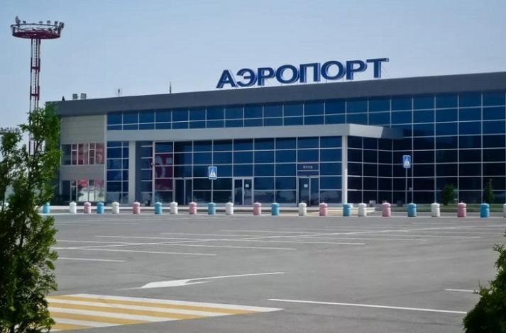 Астраханский аэропорт дезинфицируют