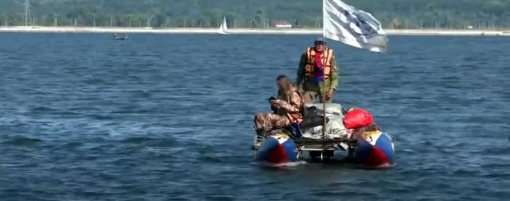 В Астрахань прибывают участники водной экспедиции «Россия: с Севера на Юг»