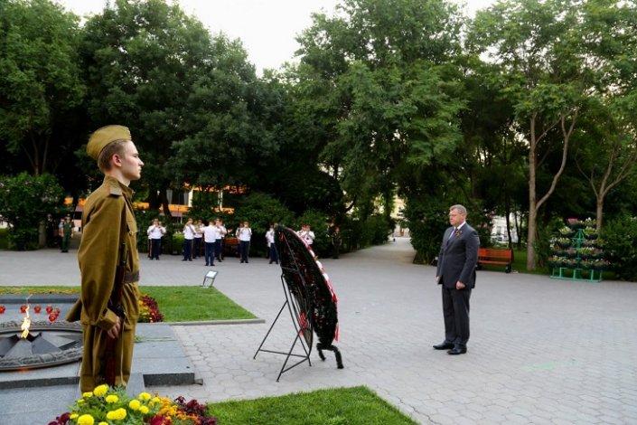 Игорь Бабушкин почтил память героев Великой Отечественной войны