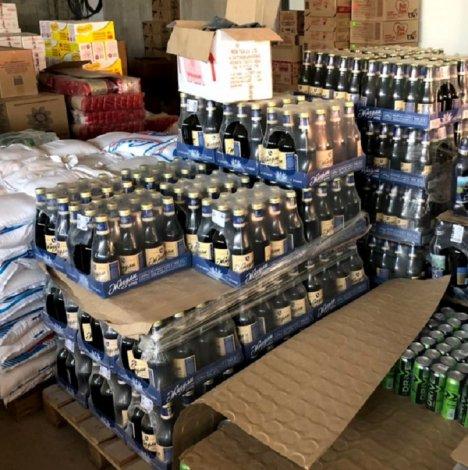 Коммерсант с тысячами литров «левого» пива попался под Астраханью