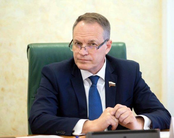 Губернатор Бабушкин попросил сенатора Башкина помочь Астрахани в Москве