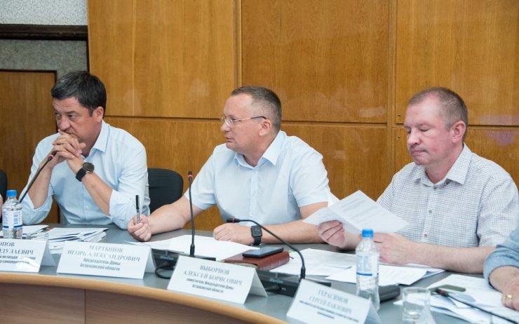 Игорь Мартынов: Начинаем приводить правовую базу региона в соответствие с Конституцией