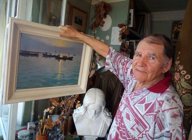 Прославленному астраханскому художнику Николаю Рудикову 90 лет