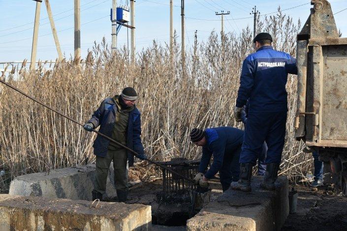 В 2019 году «Астрводоканал» отремонтировал более трех километров канализации