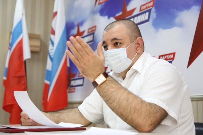 Карен Григорян решил стать депутатом областной думы по Наримановскому району