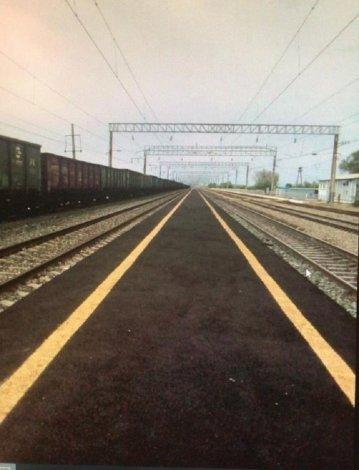 """На станции """"Бузанский"""" новая железнодорожная платформа"""
