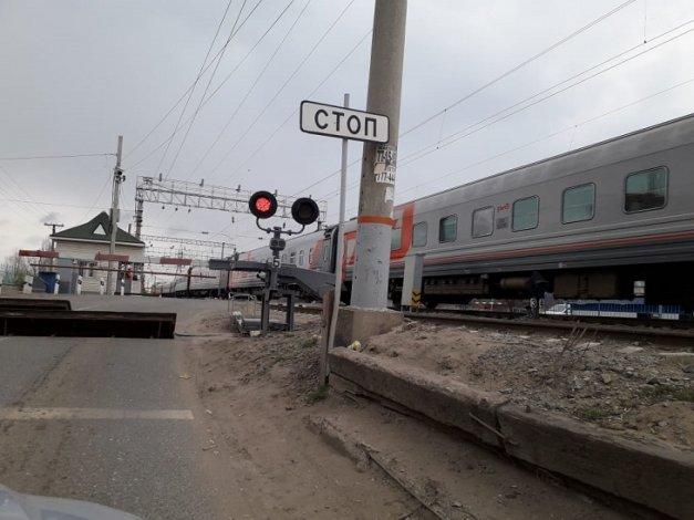 Три ночи в Астрахани не будет работать железнодорожный переезд