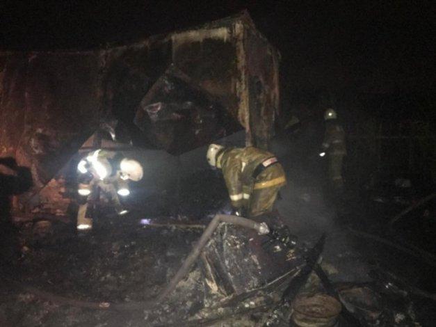 В Астрахани на пожарах погибли люди