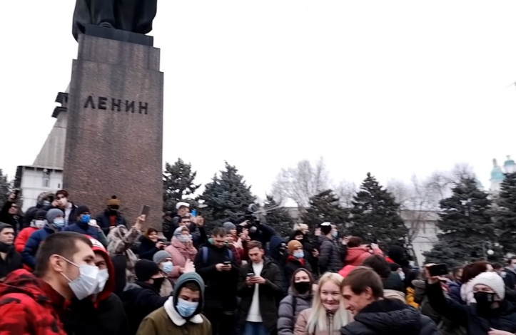 Кто и как из астраханских политиков отреагировал на митинги 23 января