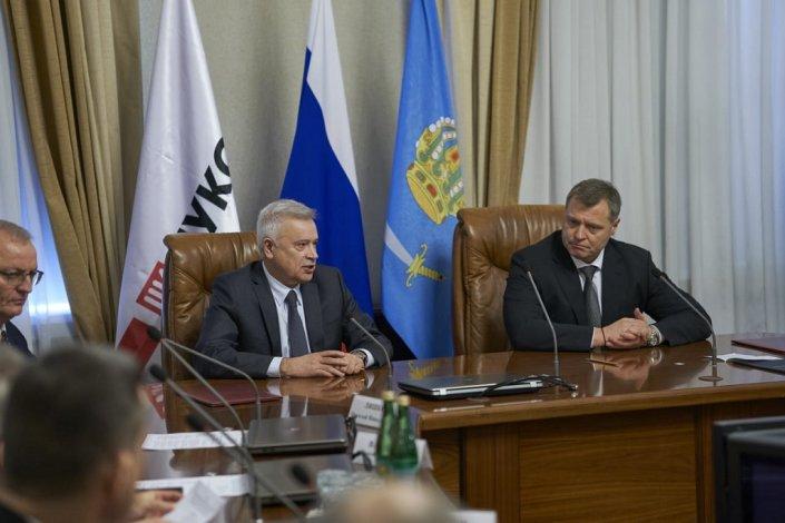 Вагит АЛЕКПЕРОВ: Мы с Астраханской областью друзья