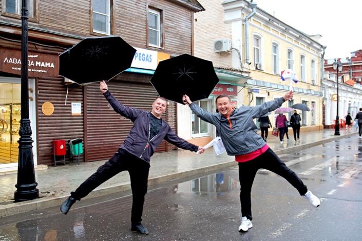 Дождь не помешал астраханцам отметить День города