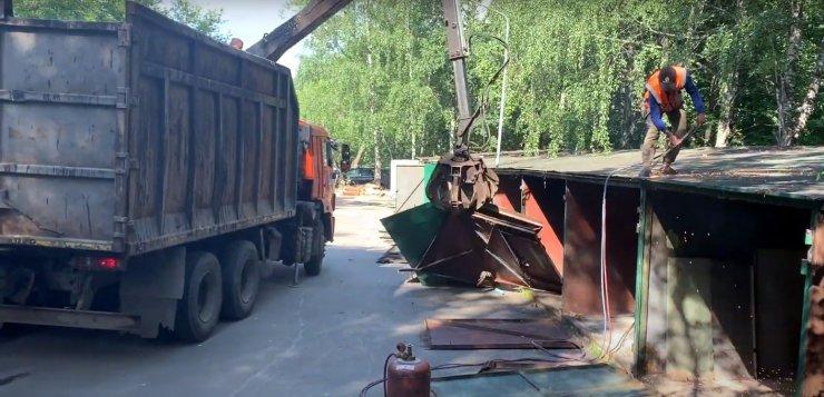 Трусовский район Астрахани очистят от гаражей и ларьков