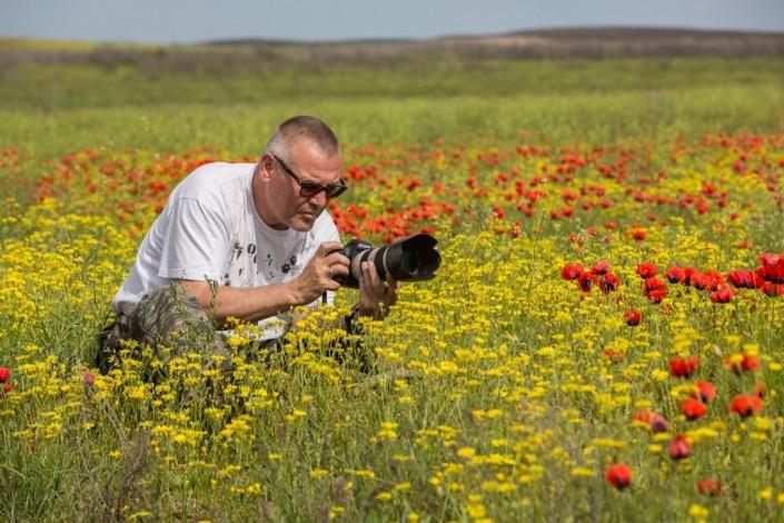 Астраханский фотохудожник Евгений Полонский отмечает юбилей