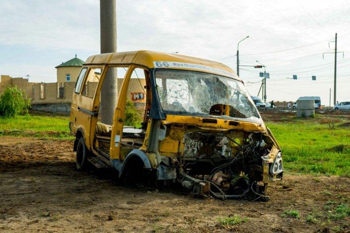 Астраханский политический арт-объект сдали в металлолом