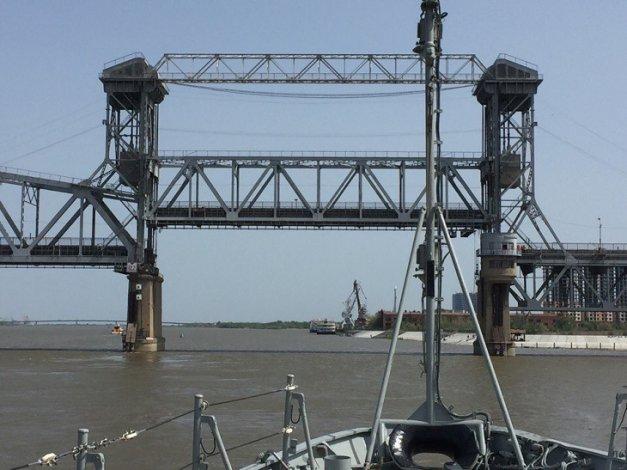 Астраханский Старый мост разведут во вторник