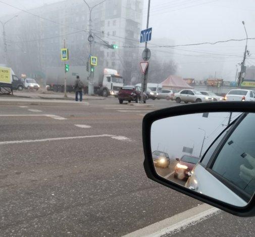 Утренний туман в Астрахани вызвал серию ДТП
