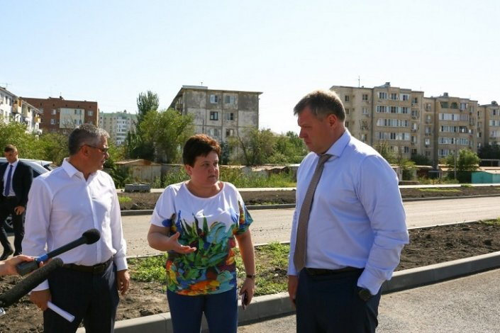 Игорь Бабушкин контролирует качество астраханских дорог