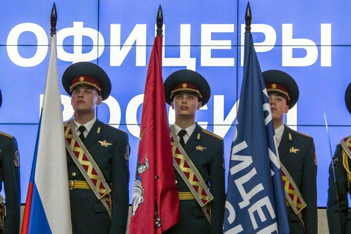 У астраханских «Офицеров России» новый руководитель