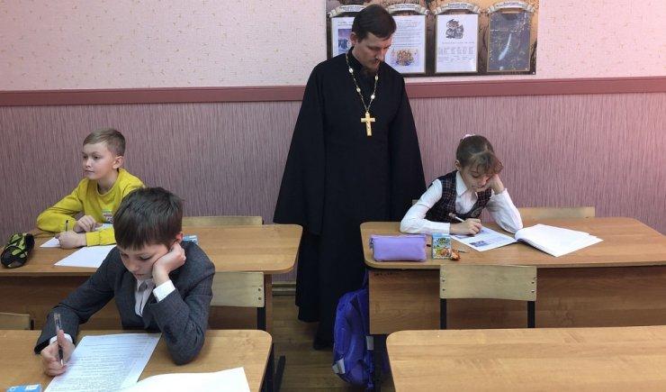 Астраханские школьники готовятся к олимпиаде по Основам православной культуры