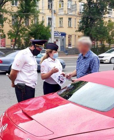 Судебные приставы выявляли должников на астраханских дорогах