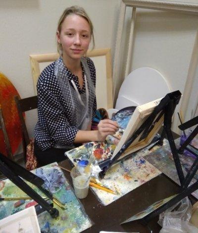 Юный астраханский художник победила во всероссийском фестивале
