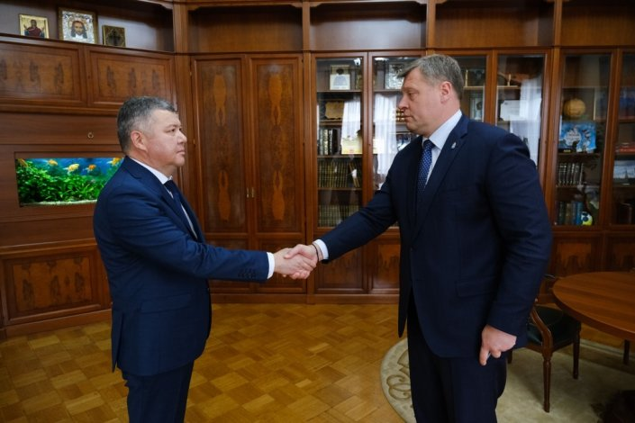 Игорь Бабушкин и Руслан Бисенов обсудили будущее Красноярского района