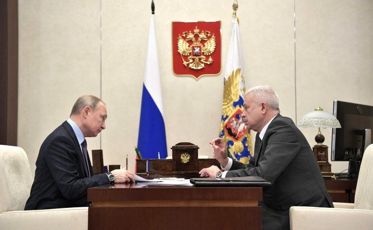Алекперов доложил Путину о проектах «ЛУКОЙЛа» в Астраханской области