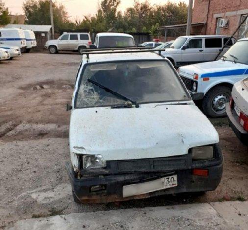 Пьяница на «Оке» сбил трёх детей под Астраханью