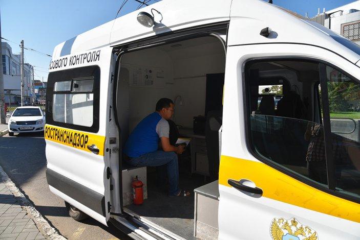 Астраханские маршрутки попались с нарушениями на рейде