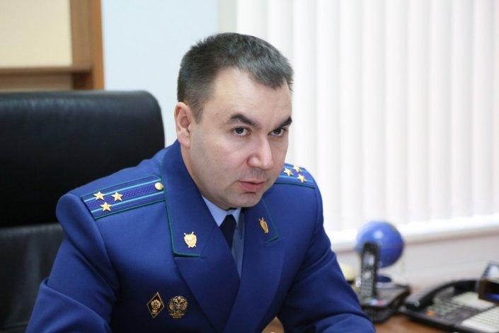 Прокурор Астраханской области уволился «по собственному желанию»
