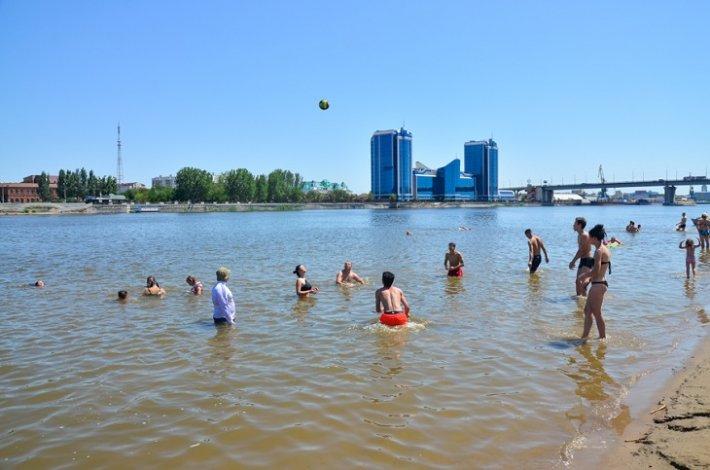 Астраханский купальный сезон открыт официально