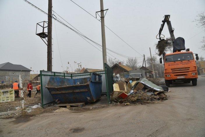 В Астрахани исчезло несколько свалок