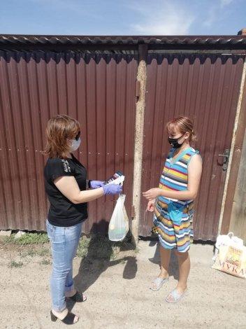 В Астрахани соцработники популяризируют здоровый образ жизни