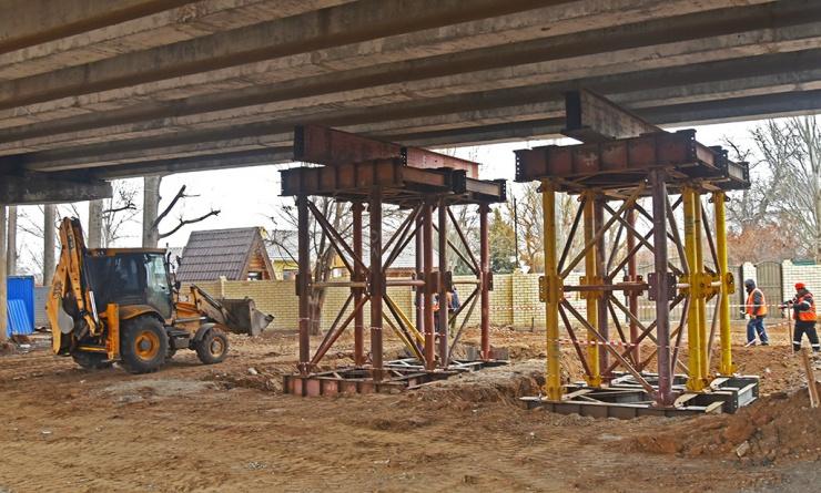 Близится второй этап ремонтных работ на мосту через Царев в створе с Аэропортовским шоссе
