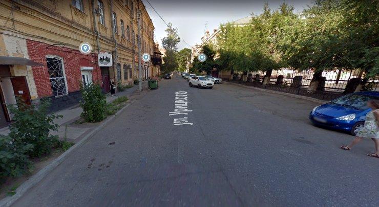 Астрахань: прогулка по улице Урицкого