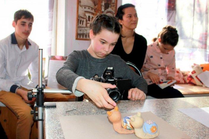 В астраханском центре «Улитка» проходят мастер-классы по анимации