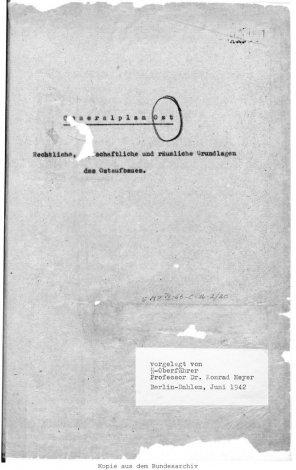 Генеральный план «Ост»: какое будущее ждало СССР в случае победы Гитлера