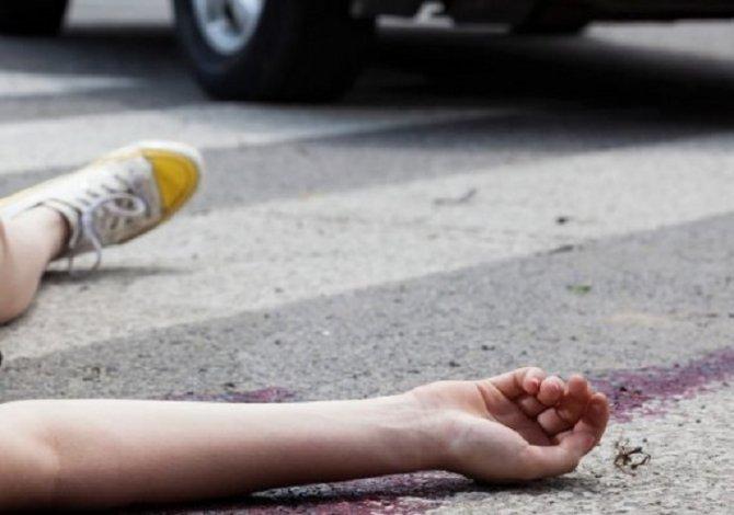 В Астрахани иномарка сбила женщину