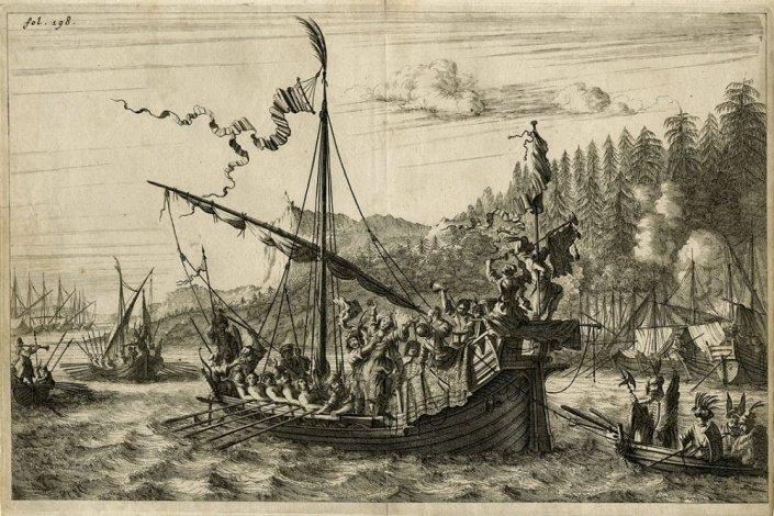 О пиратах Каспийского моря