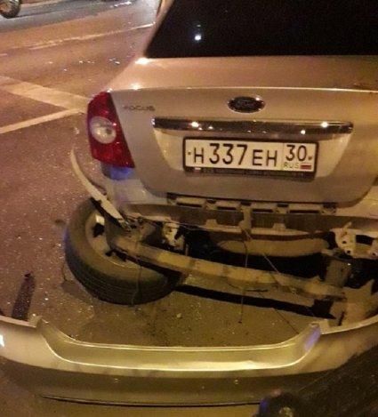 Три машины попали в ДТП в центре Астрахани