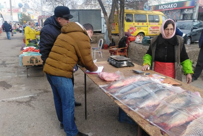 Рынок на проезде Воробьева вновь подвергся проверкам