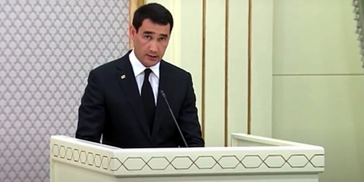 Сын президента Туркмении отметил Астрахань в беседе с Мишустиным