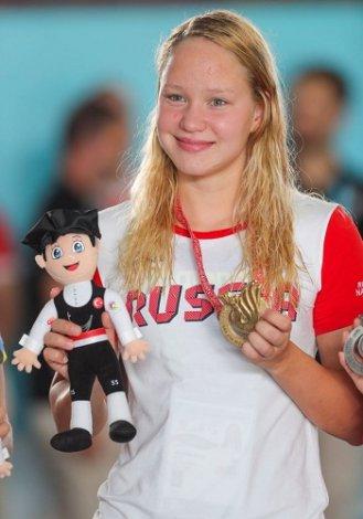 Голосуй за астраханку в спортивной премии «Лучшая спортсменка»!
