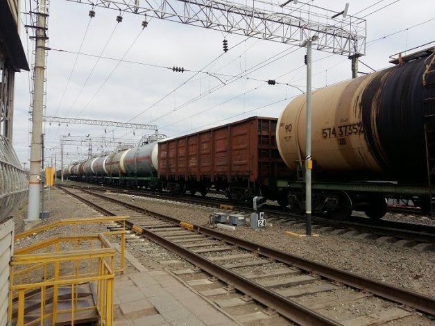 Погрузка в Астраханском регионе Приволжской железной дороги составила 8,3 млн тонн за 11 месяцев 2019 года