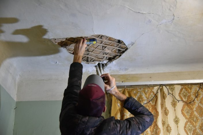 В Астрахани выявляют аварийные дома