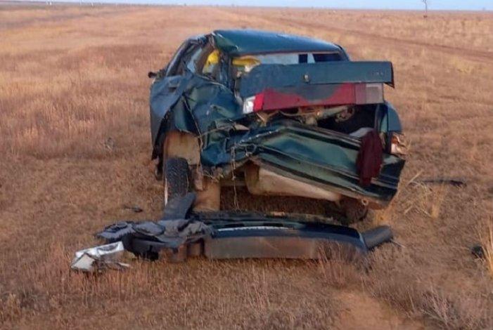 В Астраханской области в ДТП пострадал мужчина