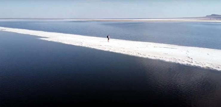 В Астраханской области отремонтируют дорогу до соленого озера Баскунчак