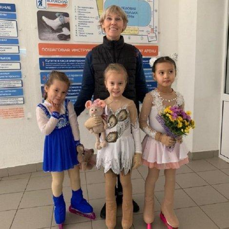 У астраханской школы фигурного катания большое будущее