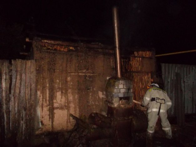 За день в Астраханской области сгорели три бани